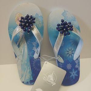 Disney Frozen Elsa flip flops  princess slippers